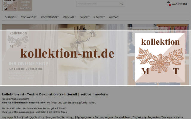 Onlineshop kollektion-mt.de