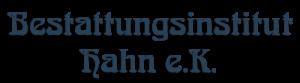 Bestattungsinstitut Hahn